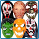 Маски на Хэллоуин / Страшные маски на Хэллоуин