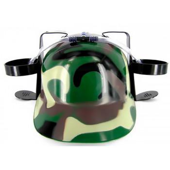 Шлем любителя пива камуфлированный