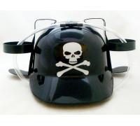Шлем любителя пива с черепом