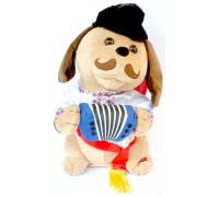Собака Гармонист в украинском стиле