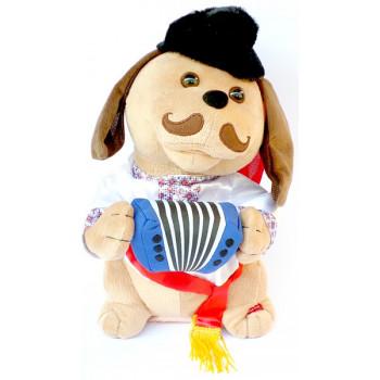 Собака Гармоніст в українському стилі