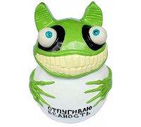 Прикольна скарбничка «Божевільна жаба»