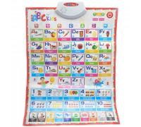 Обучающий интерактивный плакат Abc for kids - изучение английского языка