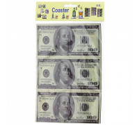 Подставка Доллары пазлы (костер)