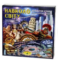 Настольная игра Вокруг света - исторический квест