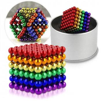 Головоломка Неокуб цветной 216 шариков по 5мм