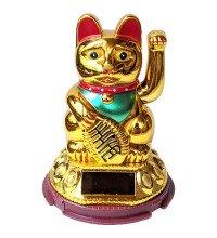 Японський кіт Манекі-неко - залучає удачу, багатство, щастя