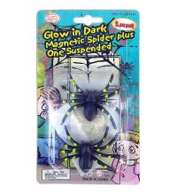 Набор пластиковых пауков 2 шт. для декора