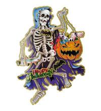 Скелет картонный декор для Хеллоуина