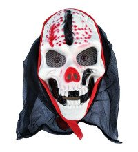Маска кривавого Скелета в капюшоні