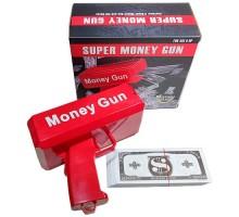 Пистолет стреляющий деньгами Money Gun