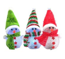 Світильник Сніговик LED новорічний