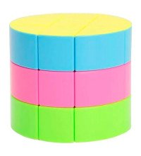 Головоломка Кубик Рубика Цилиндр 3х3