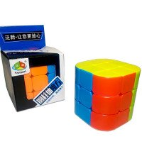 Головоломка Кубик Рубика 3х3 с закругленными сторонами
