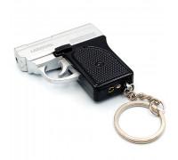 Зажигалка Пистолет брелок