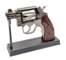 Зажигалка Револьвер настольная