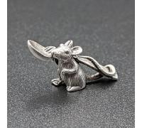 Мишка з ложкою сувенір на удачу