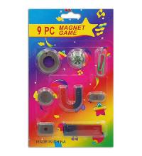Набор магнитов для игр и опытов, 9 предметов