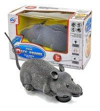 Іграшка Мишка для кішок на батарейках