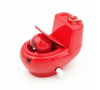 Механічний брелок Унітаз - іграшка-прикол