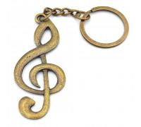 Брелок музичний Скрипковий ключ