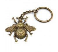 Брелок Пчела металл