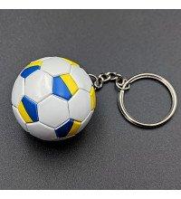 Брелок футбольний м'яч Україна