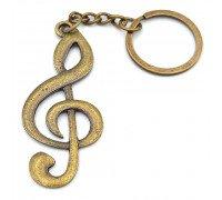Брелок музыкальный Скрипичный ключ