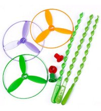 Игрушка вертушка летающая (пропеллер)