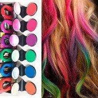 Декоративная краска для волос - смывающаяся