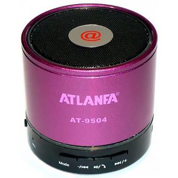 Беспроводная портативная Bluetooth колонка ATLANFA АТ 9504