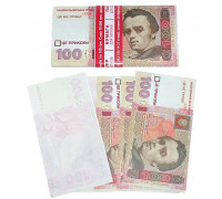 Бумага для записей 100 гривен