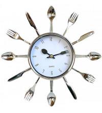 """Часы """"Ложки вилки ножи"""""""