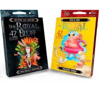 Карточная настольная игра Royal Bluff - верю не верю, подложи свинью
