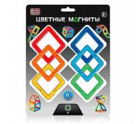 Магнитный конструктор - Цветные квадраты