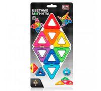 Магнитный конструктор - Цветные треугольники