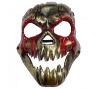 Маска Тыква-череп с кровью