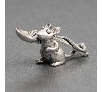 Мышка с ложкой сувенир на удачу