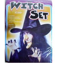 Набор для Хэллоуина (Баба яга, ведьма)