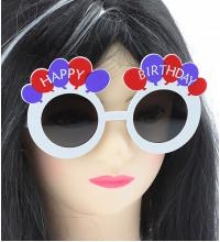 "Окуляри - party ""Happy birthday"", круглі"
