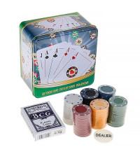Покерный набор Poker Chips на 120 фишек