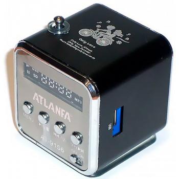Портативная колонка ATLANFA AT- 9156 с USB& SD card