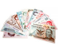 Прикол - подарок Деньги разных стран