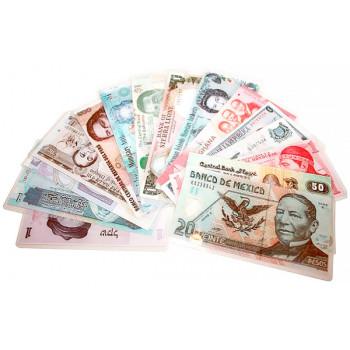 Прикол - подарок. Деньги разных стран