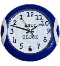 Прикол-подарок часы обратные Anti clock