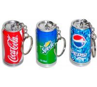 Ручка-брелок Банка Колы, Спрайт, Пепси