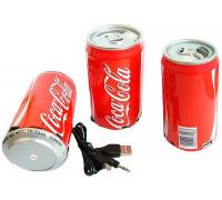 """Speaker-колонка """"Coca Cola"""", МР3 плеер, радиоприемник"""