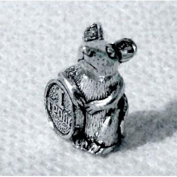Кошельковая мышь с грошем сувенир