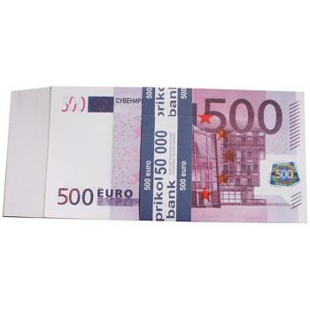 Сувенірні гроші 500 євро