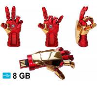"USB флешка ""Рука Железного человека"" (Iron Man) на 8 Гб"